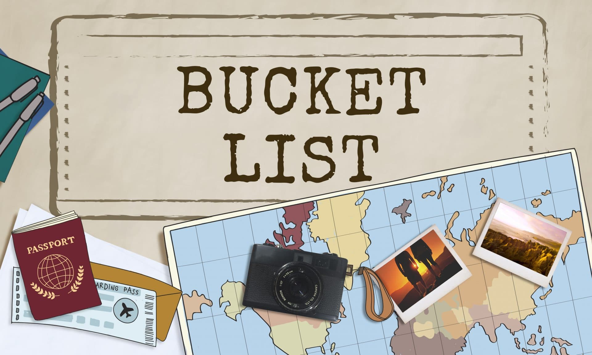 Guide to writing adventure travel bucket list