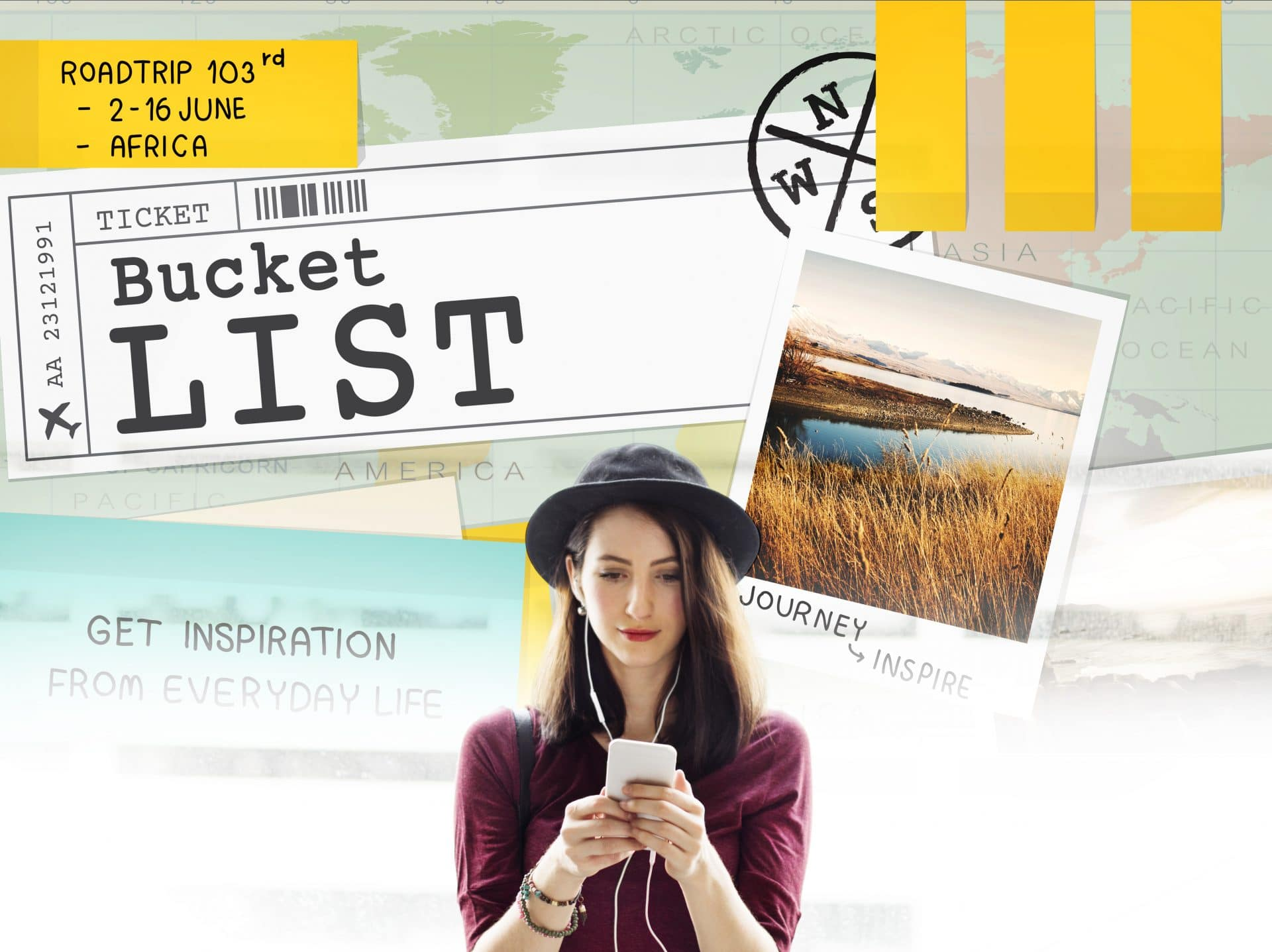 How to write travel bucket list