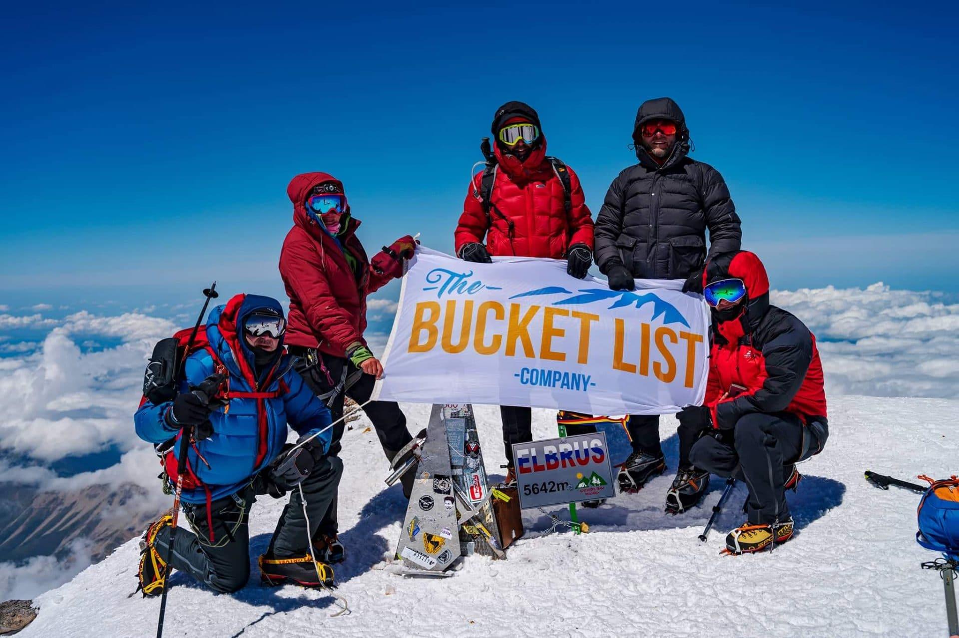 Mount Elbrus climb