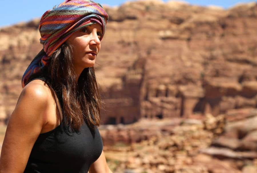 Annette from Bucket List Journey in Jordan