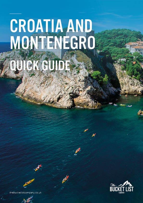 Croatia and Montenegro Adventure Free Guide