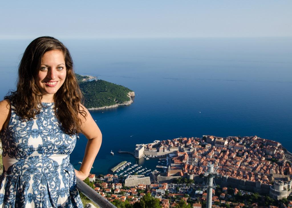 Adventurous Kate in Croatia