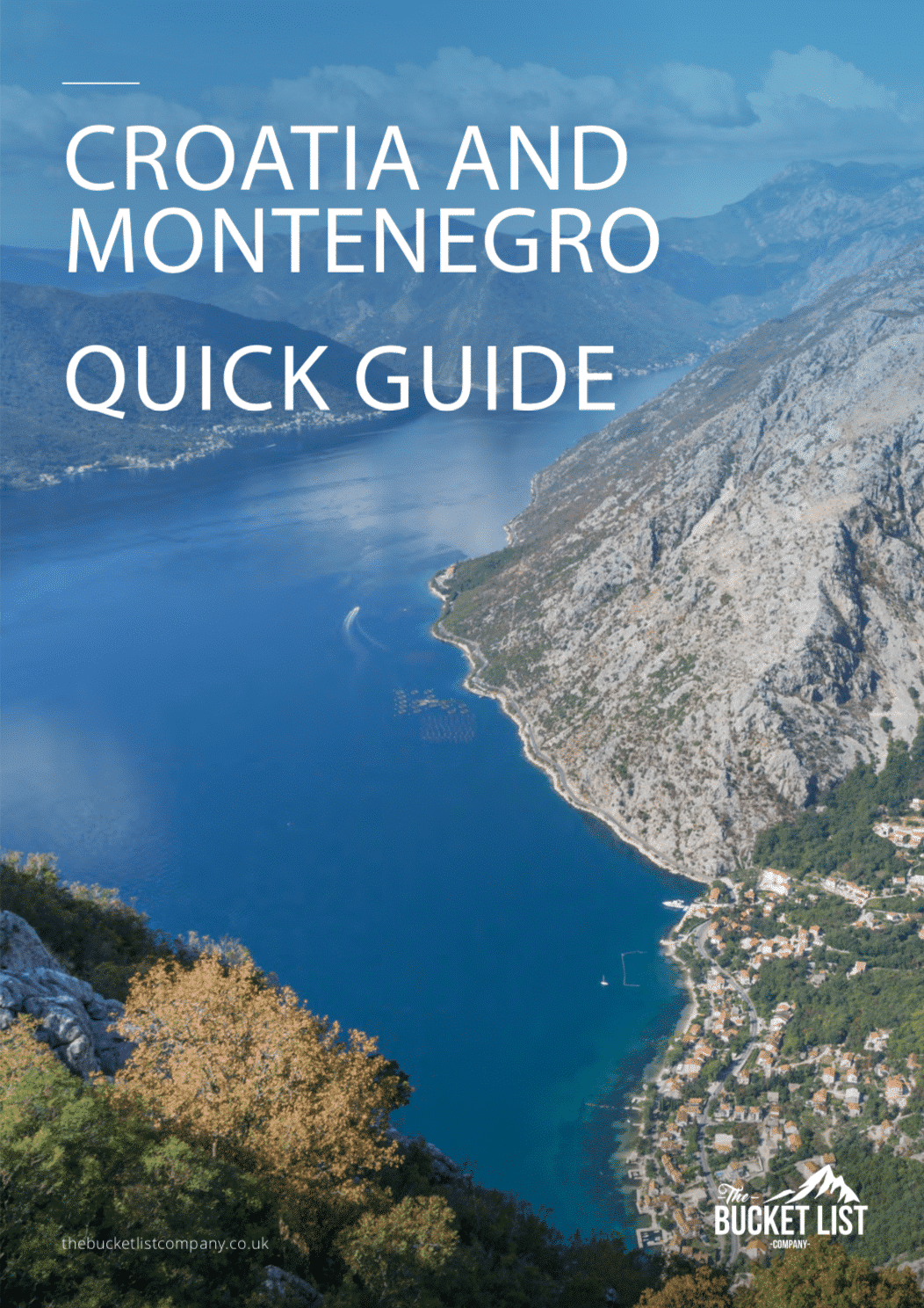 Croatia and Montenegro Outdoor Adventure Free Guide
