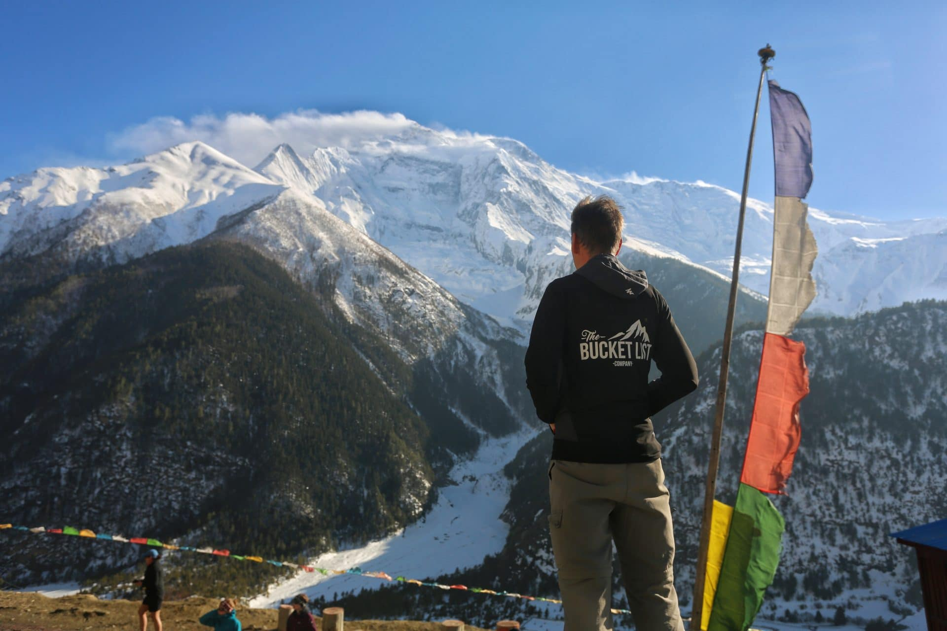 Guide Dave on the Annapurna Circuit