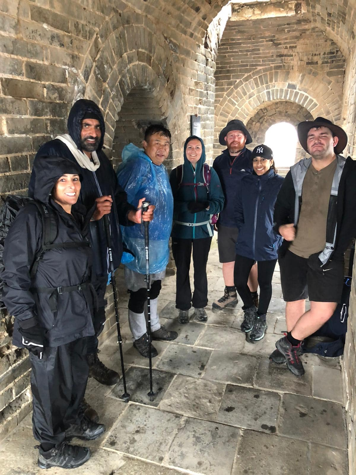 Bucketlisters trekking the Great Wall of China