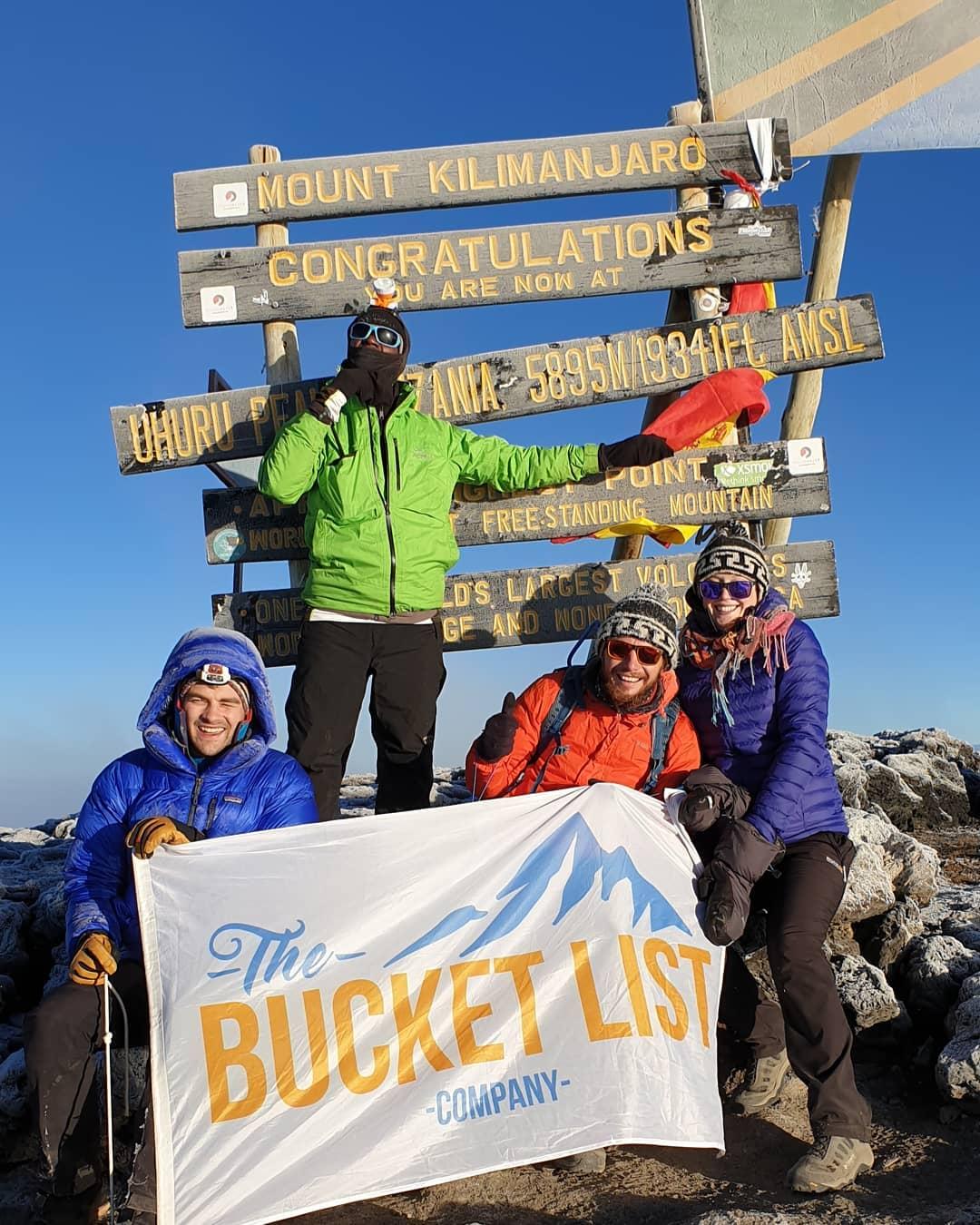 Summit of Kilimanjaro, Uhuru Peak
