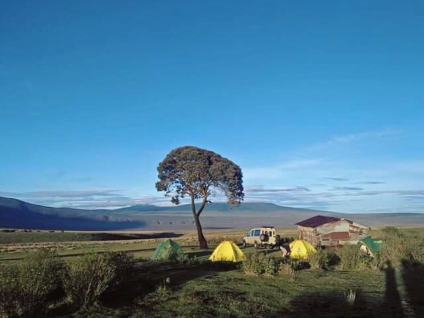 Campsite on the Ngorongoro Trek