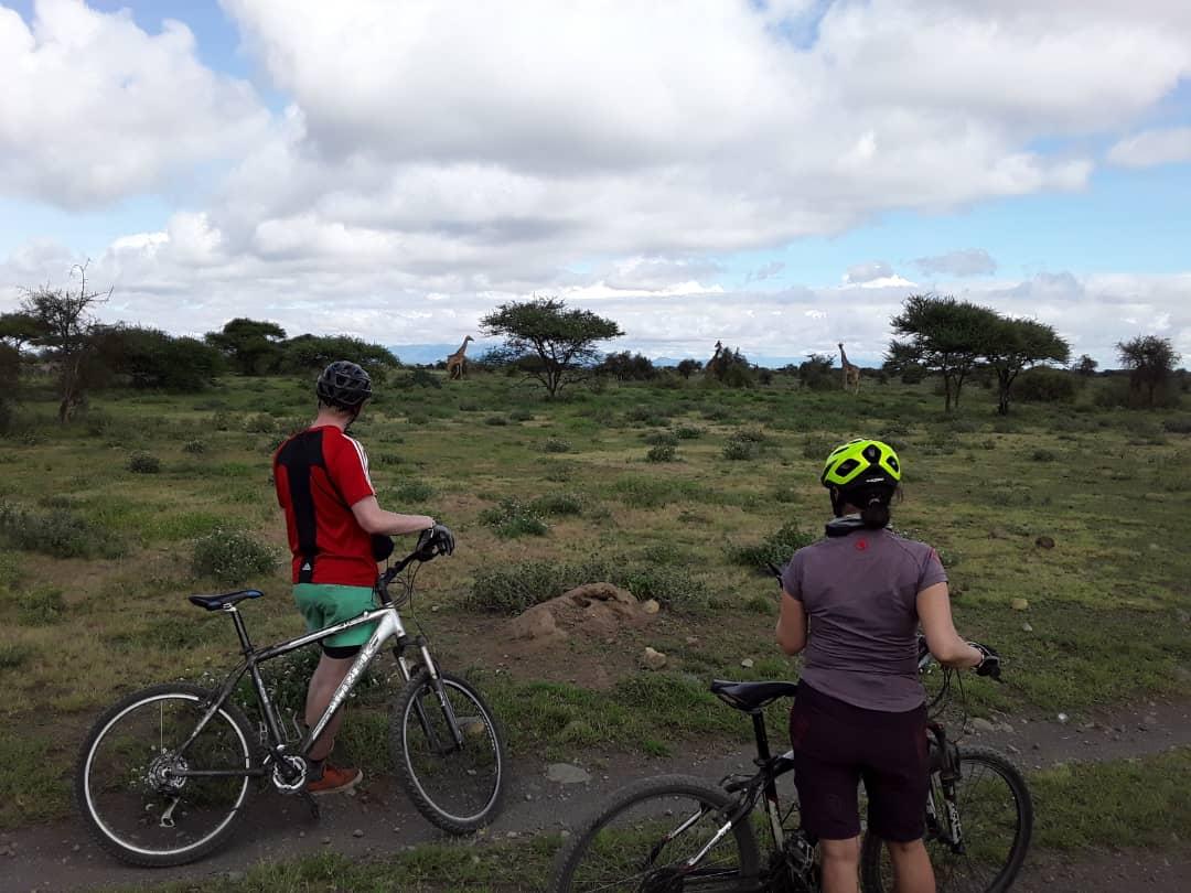Kilimanjaro cycle trip