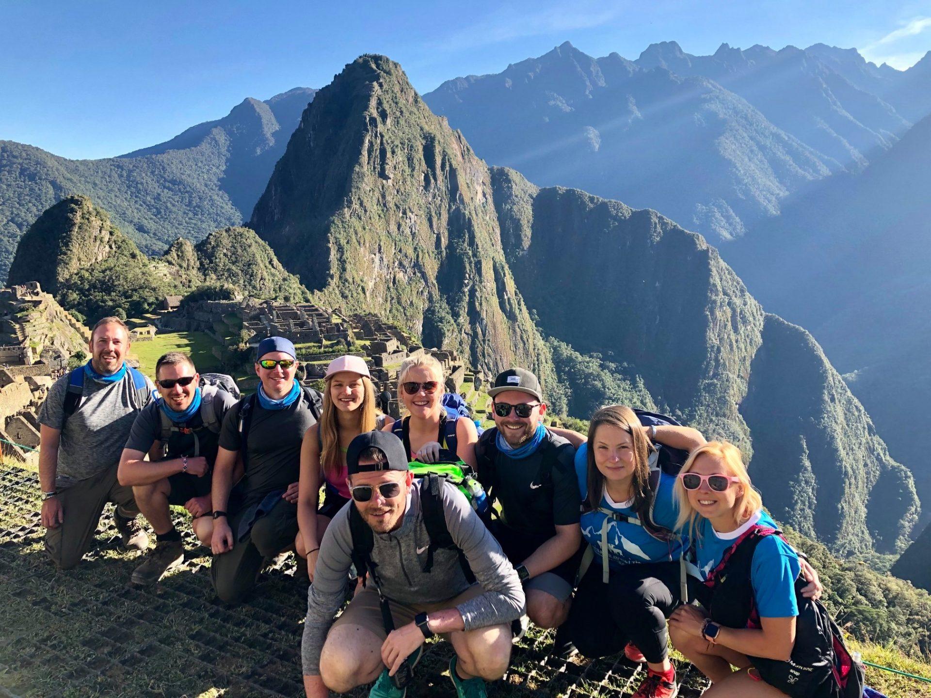 Bucket List Company group in Machu Picchu