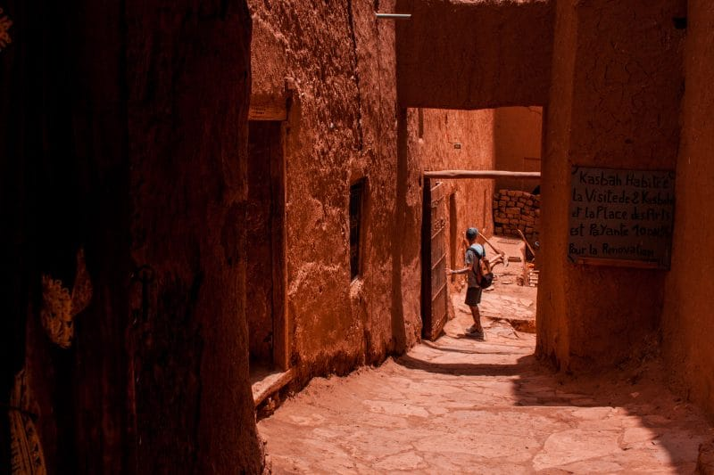 Morocco adventure holiday - road of 1000 Kasbahs