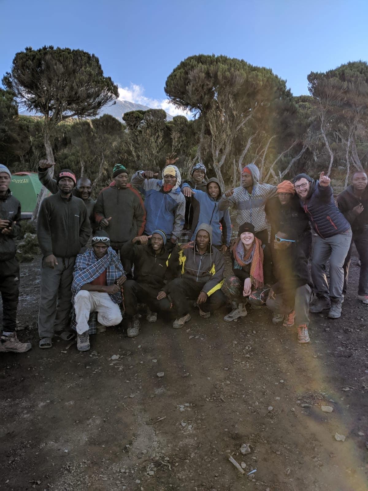 Mount Kilimanjaro Lemosho trek