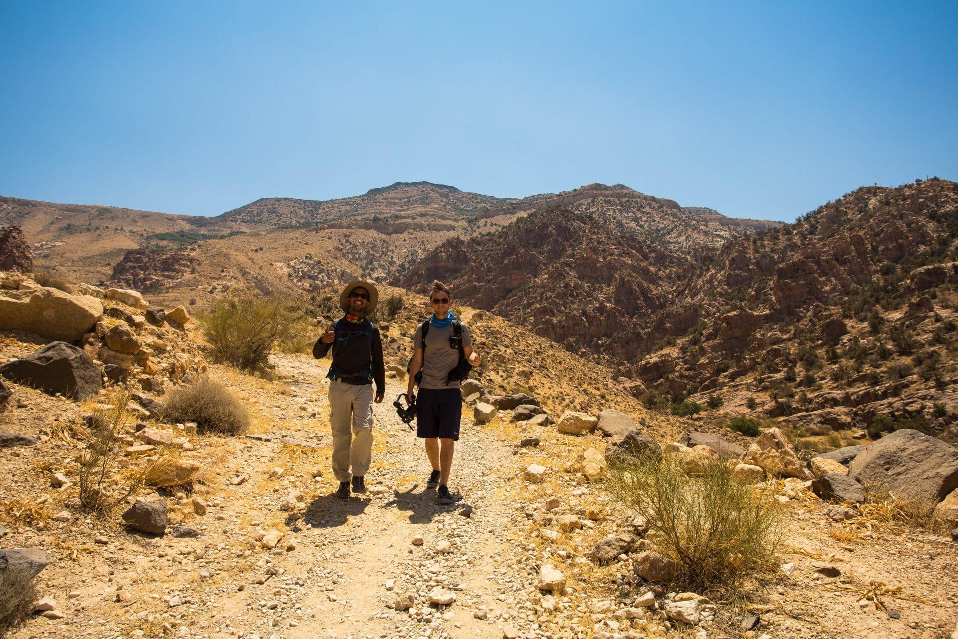 Trekking in Jordan - Dana Biosphere Reserve