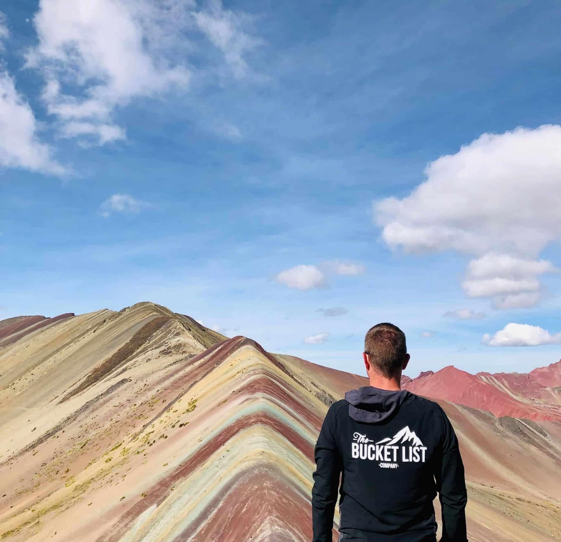 Rainbow Mountain excursion, Peru