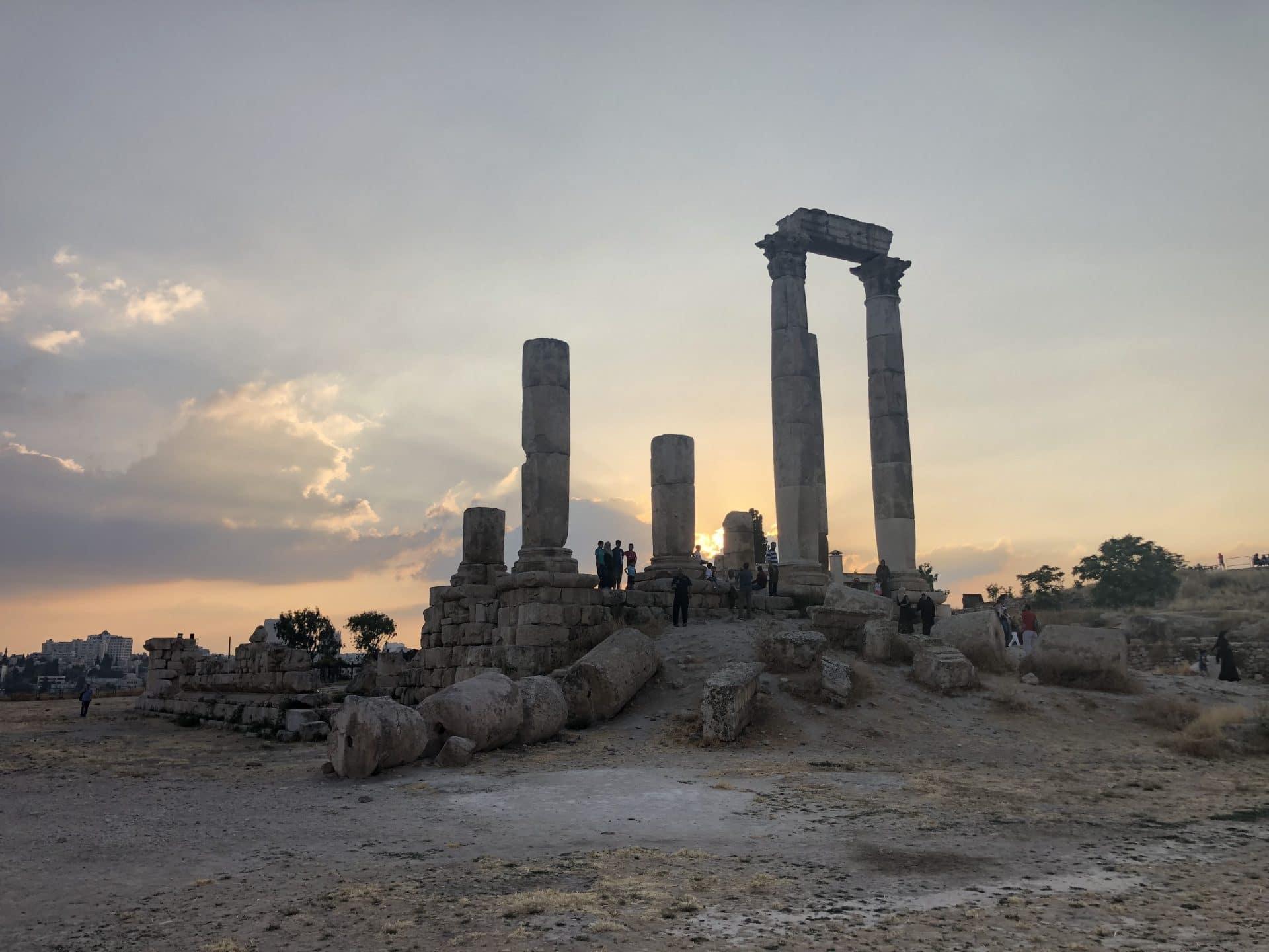 Jordan travel - Amman Citadel