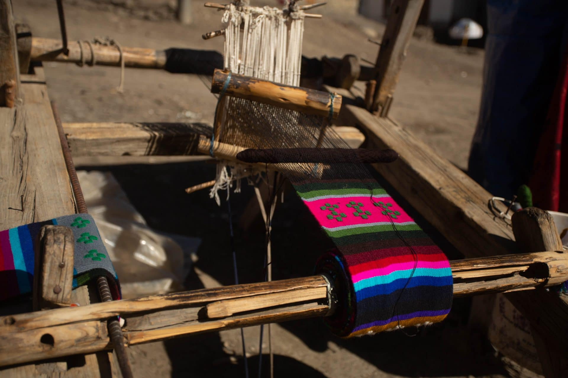 Local handicrafts in Nepal