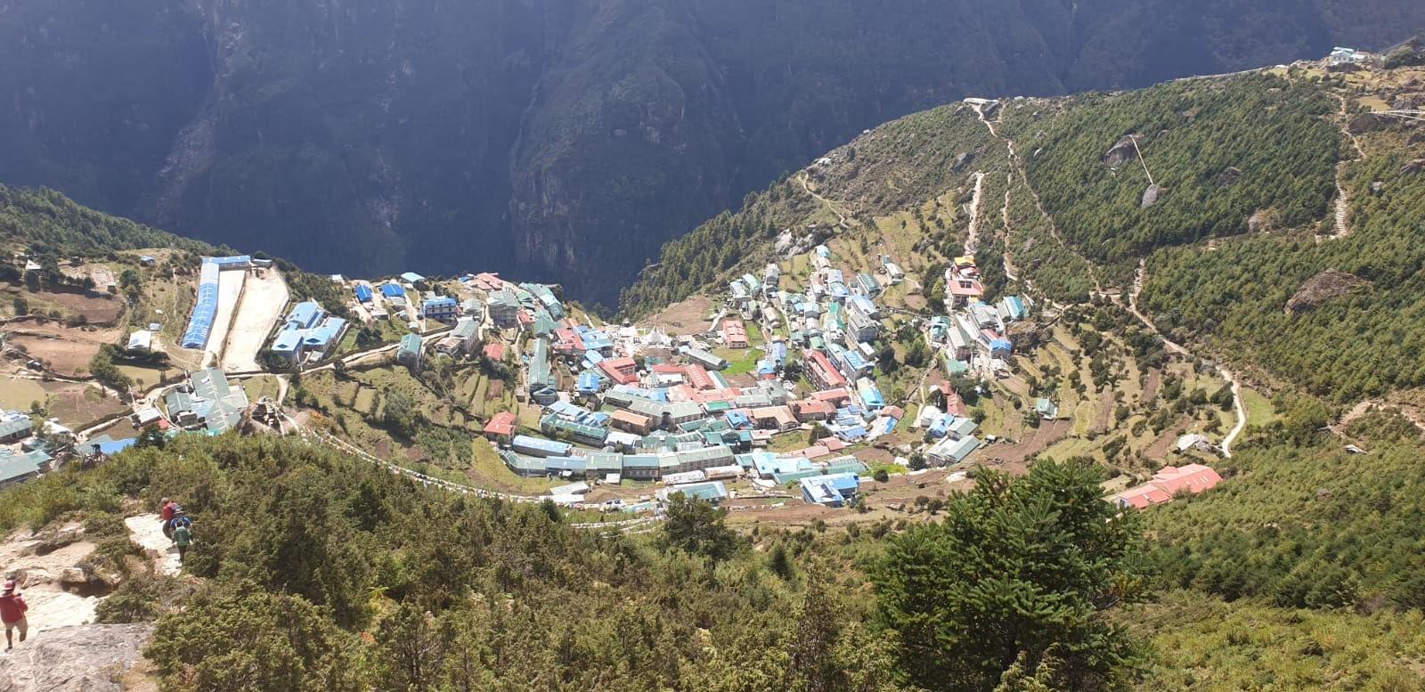 Namche Bazaar - trek to Island Peak