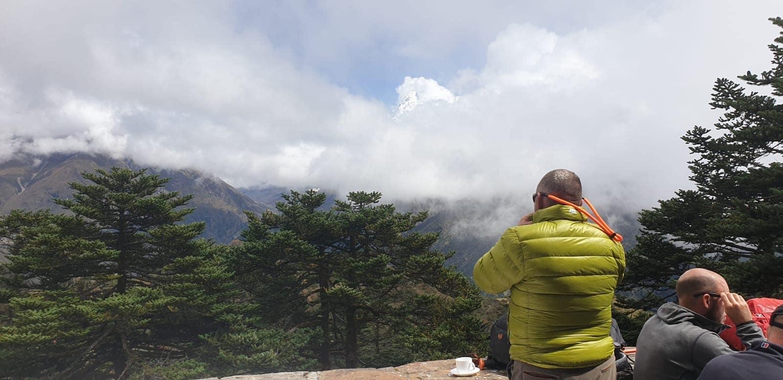 trekking to Island Peak