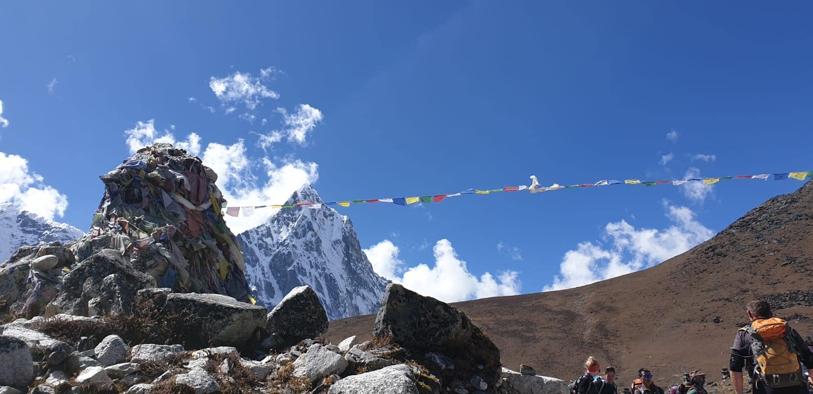 trekking to Everest Base Camp, Nepal