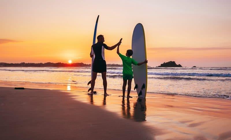 Family surf trip Morocco