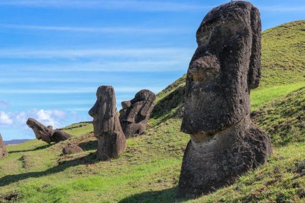 Easter Island Chile Moai Sculpture