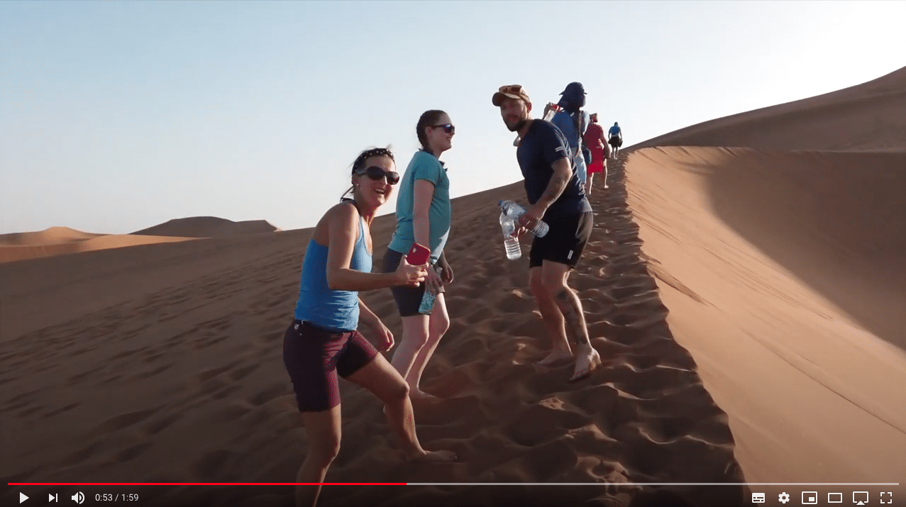 Sahara Desert trek testimonials