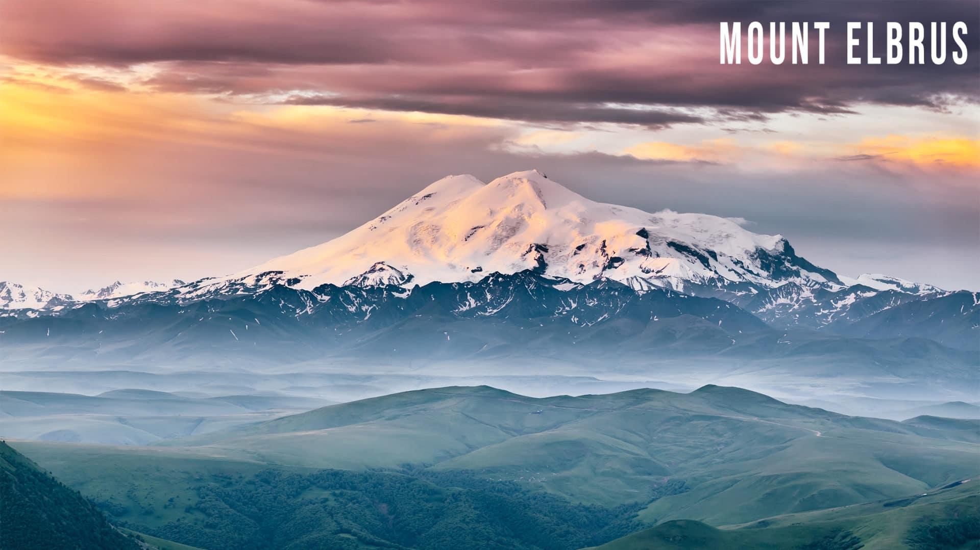 Mount Elbrus in Europe