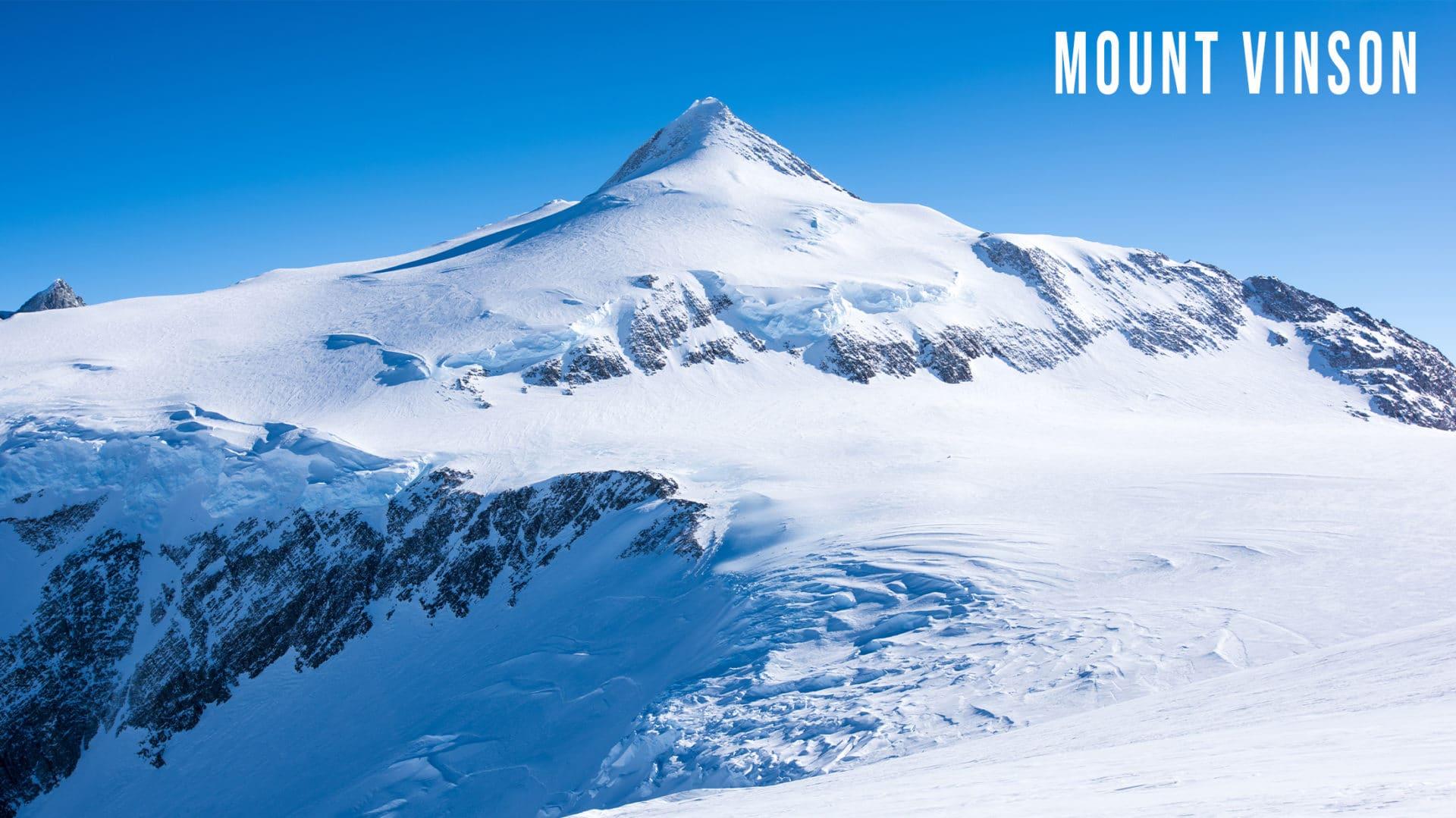 Mount Vinson in Antarctica