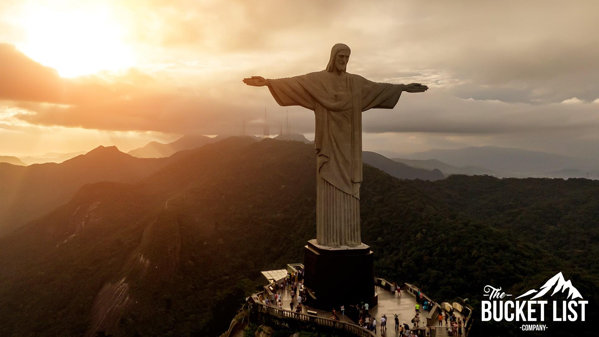 Christ the Redeemer standing tall over Rio De Janeiro