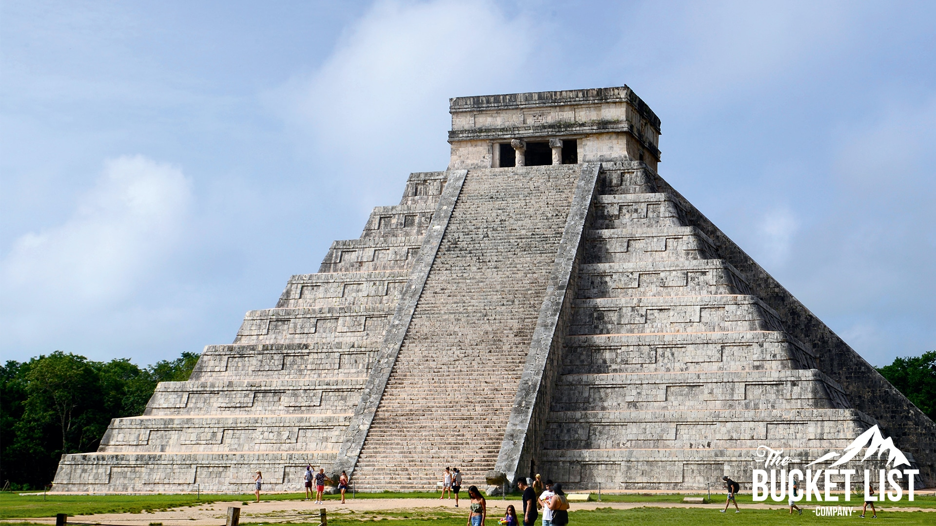 a temple that can be found in Chichén Itzá, Mexico