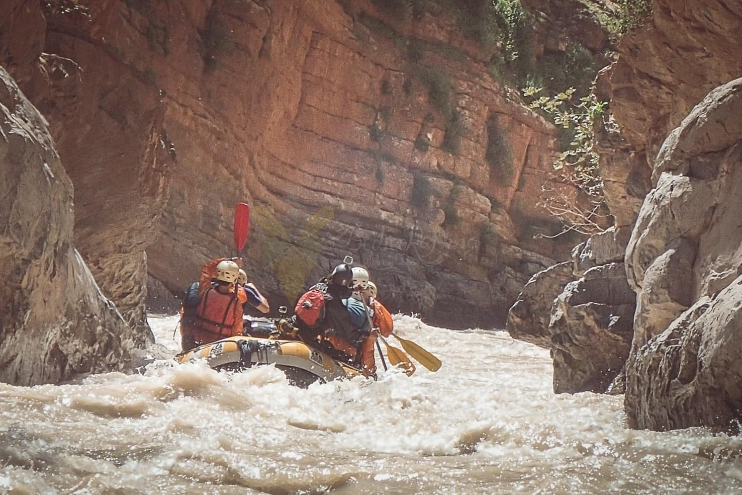 Guide to white water rafting Morocco