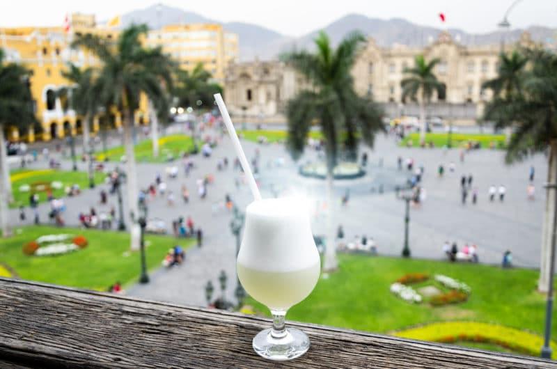 Picso sour Lima Square